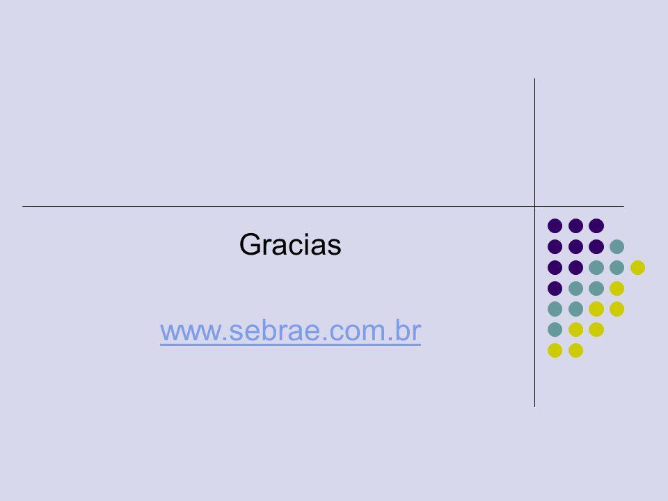 Gracias www.sebrae.com.br