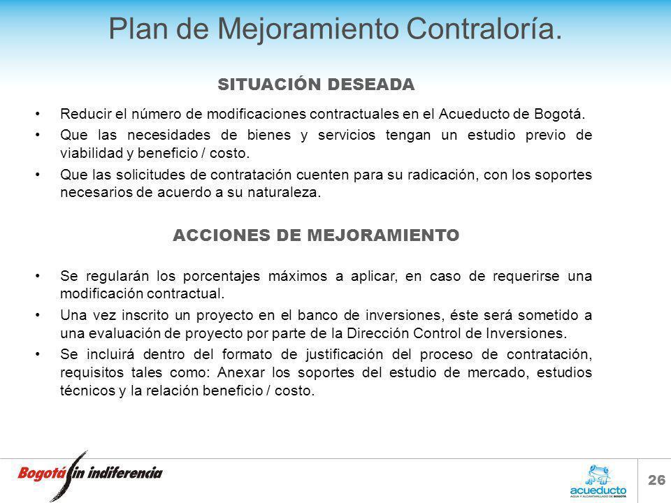 25 PROPUESTA DE PLAN DE MEJORAMIENTO CONTRALORÍA.