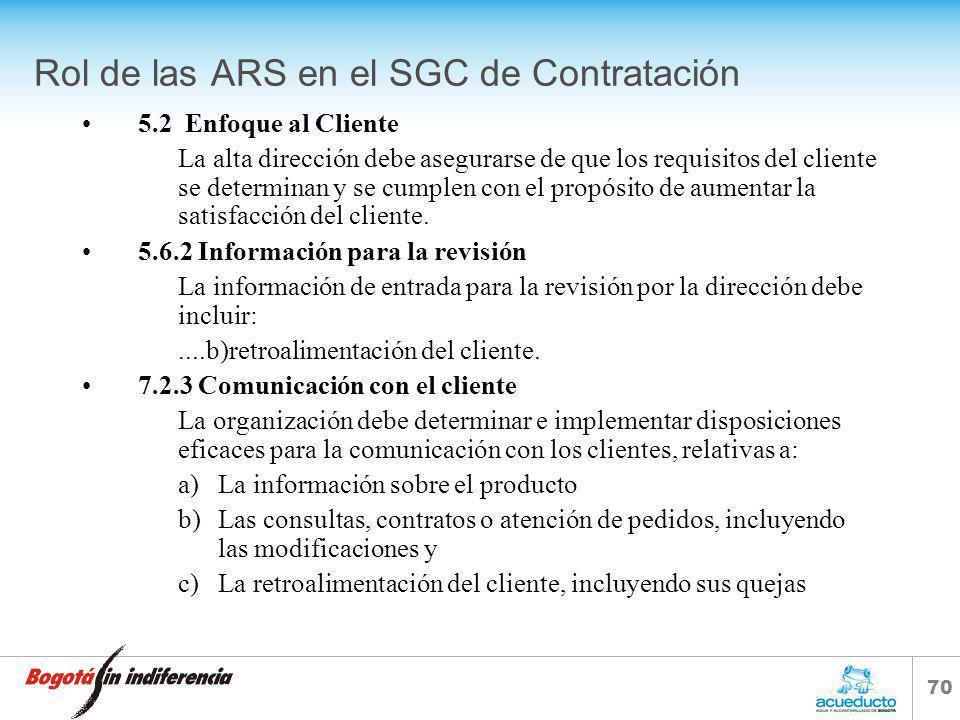 69 S.G.C. PROCESO DE CONTRATACIÓN Y COMPRAS