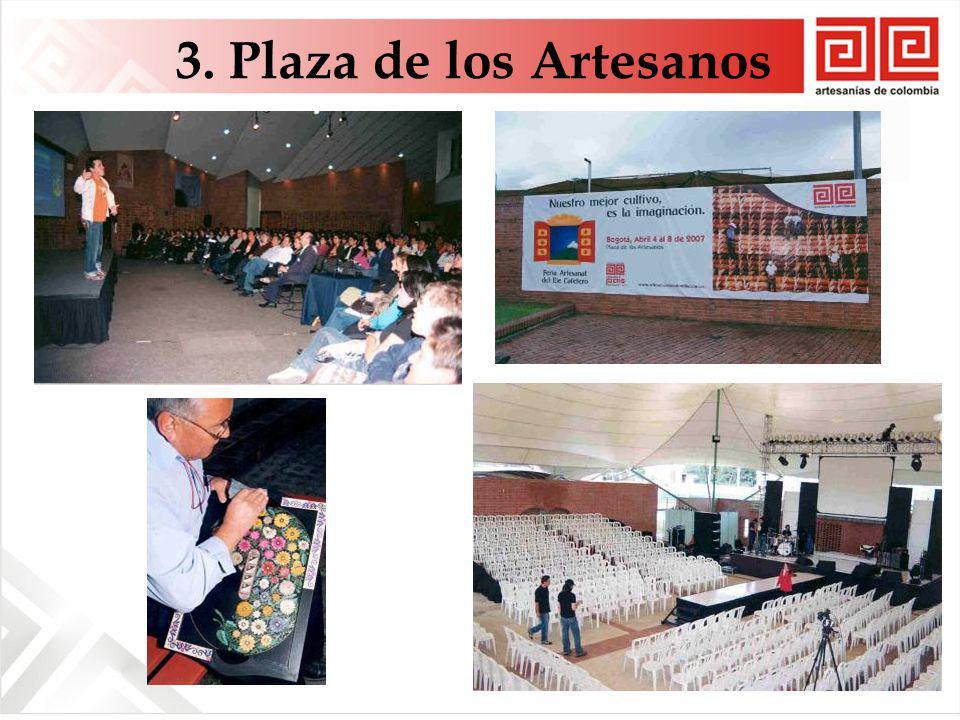 3. Plaza de los Artesanos