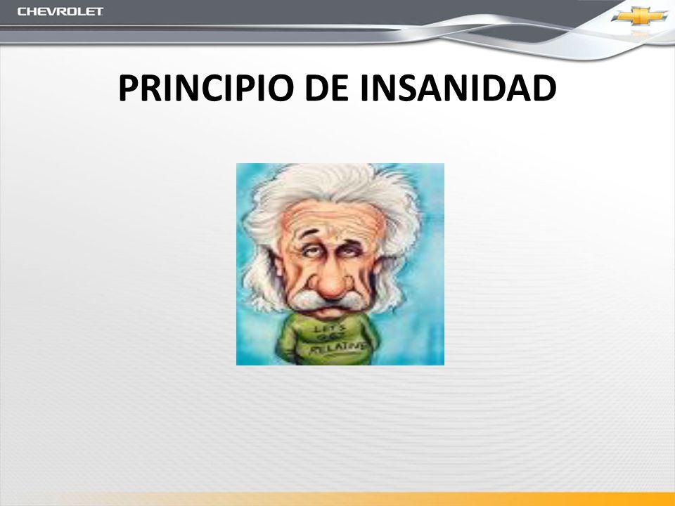 PRINCIPIO DE INSANIDAD