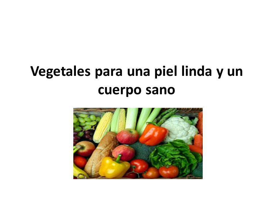 Todos sabemos que los vegetales son muy importantes para la salud.