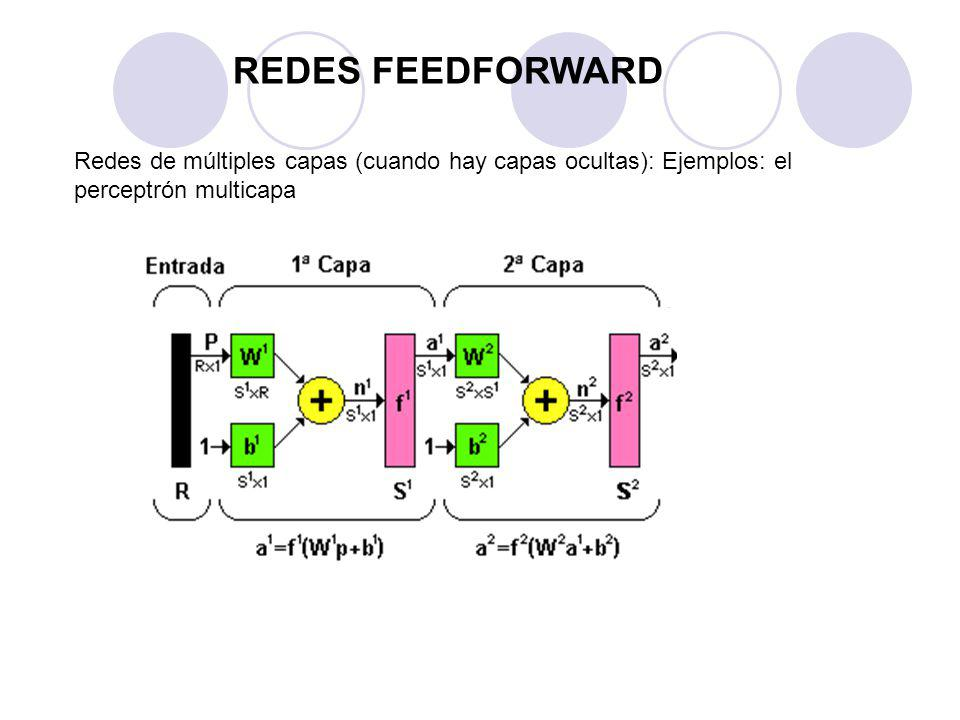 Procedimiento para encontrar el vector gradiente de una función error asociada a la salida de la red con respecto a los parámetros de la misma.