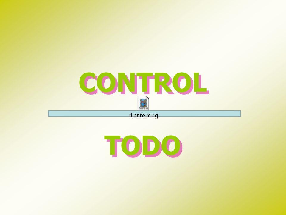 CONTROL TODO CONTROL TODO