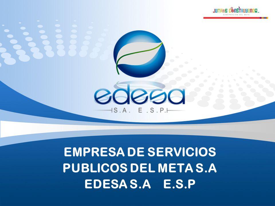 Page 12 EMPRESA DE SERVICIOS PUBLICOS DEL META EDESA S.A E.S.P CÓDIGO DE ÉTICA Documento de referencia que establece pautas de comportamiento de los servidores públicos, para gestionar en el día a día de una entidad.