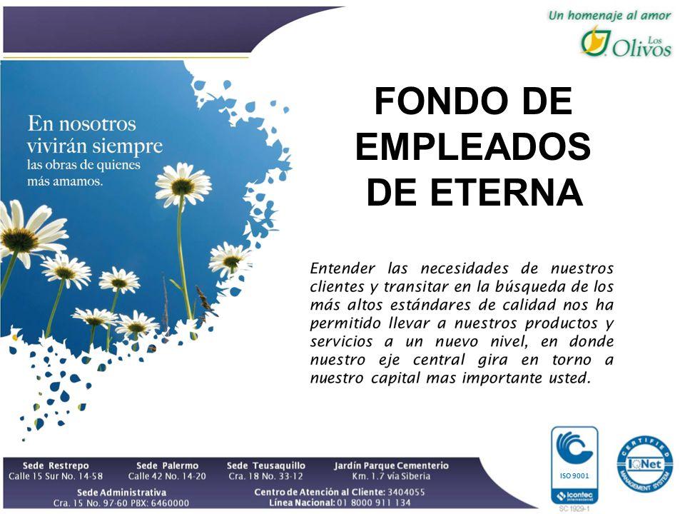 ISO 9001 FONDO DE EMPLEADOS DE ETERNA