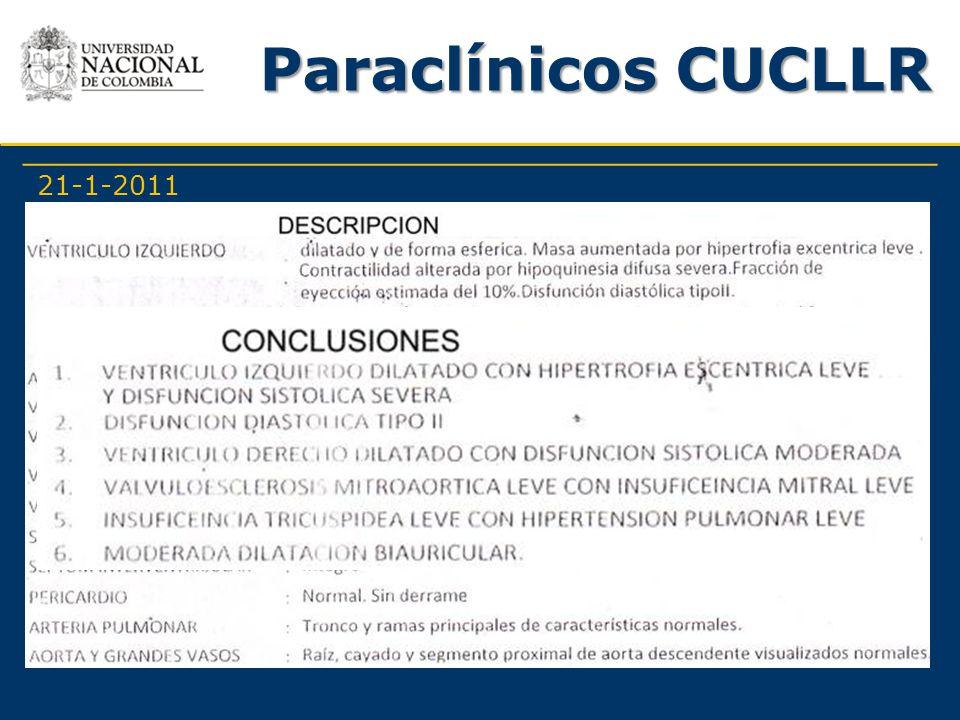Paraclínicos CUCLLR 21-1-2011
