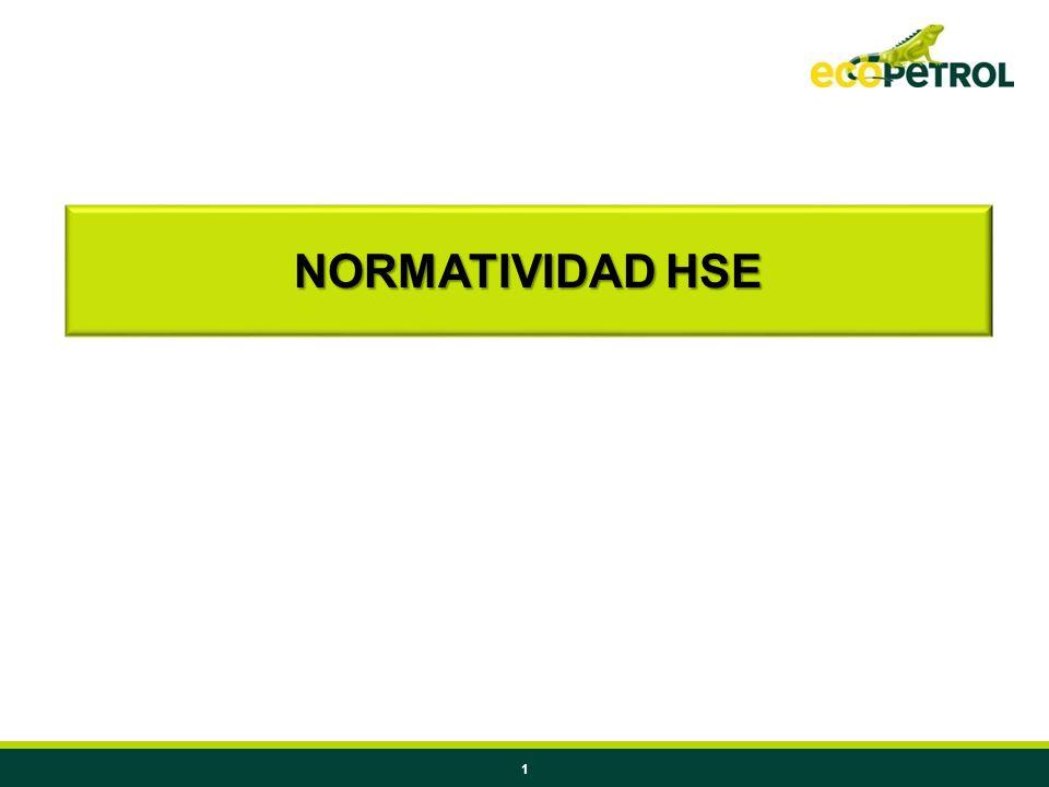 1 NORMATIVIDAD HSE