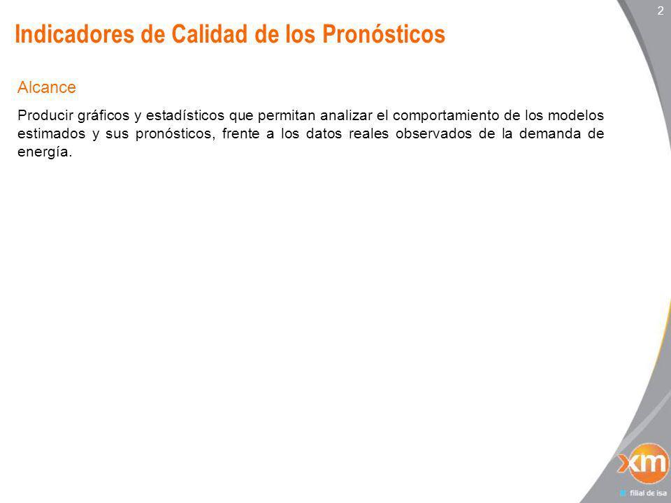 3 Indicadores de Calidad de los Pronósticos – Resumen Mensual Mayo 2011