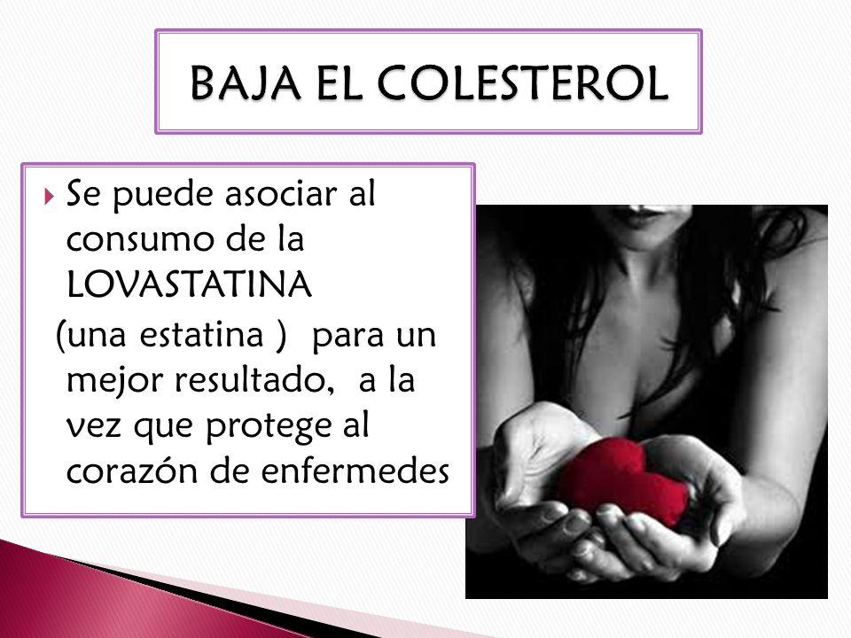 BAJA EL COLESTEROL Y LOS TRIGLICERIDOS