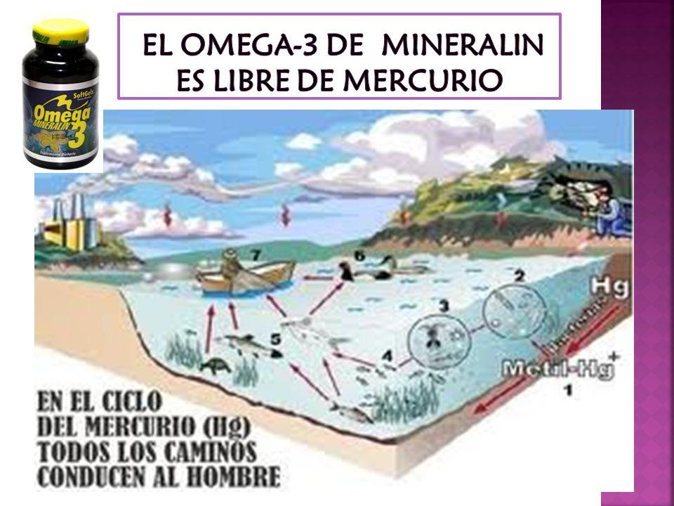 OMEGA 3 SEGÚN LA USP AMERICANA (FARMACOPEA DE LOS EE UU DE AMERICA) 2009 EL OMEGA 3 REQUIRE CONTROLES DE: MERCURIO 0.1 mcg/gr CADMIO 0.1 mcg/gr ARSENI