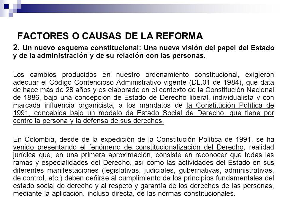 FACTORES O CAUSAS DE LA REFORMA 2.