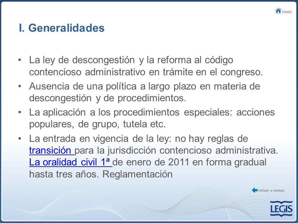 II.Aplicación de las reformas al C.P.C. Punto de partida: la remisión del artículo 267 del C.C.A.