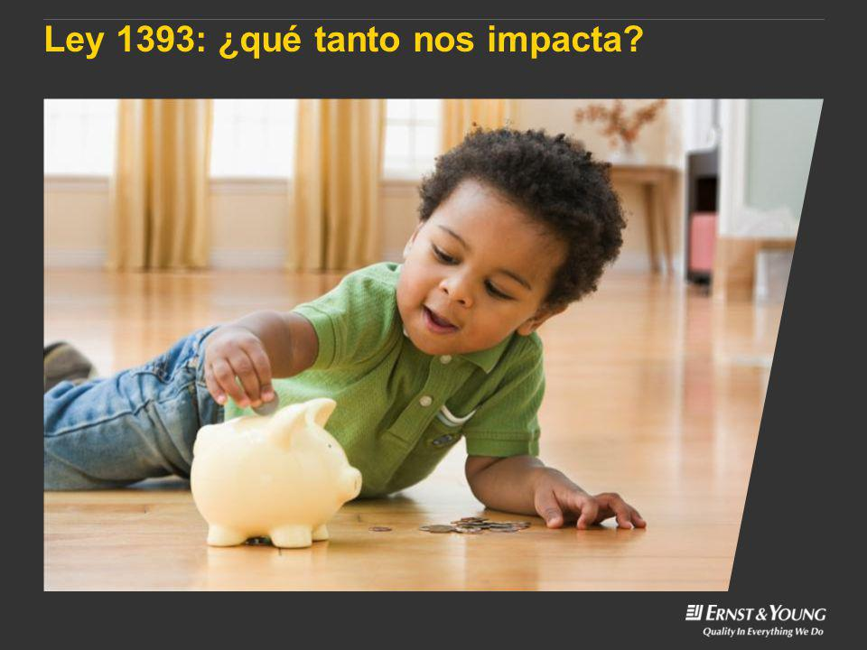 Ley 1393: ¿qué tanto nos impacta?