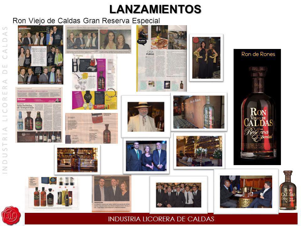 INDUSTRIA LICORERA DE CALDAS LANZAMIENTOS Ron Viejo de Caldas Gran Reserva Especial