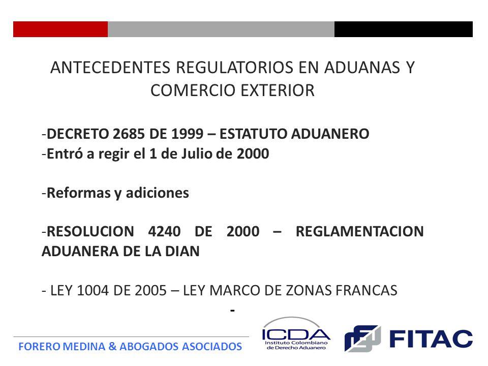 FORERO MEDINA & ABOGADOS ASOCIADOS Compromisos de Facilitación Aduanera TLC Colombia - EEUU CAPITULO V Artículo 5.1.Publicación 1.