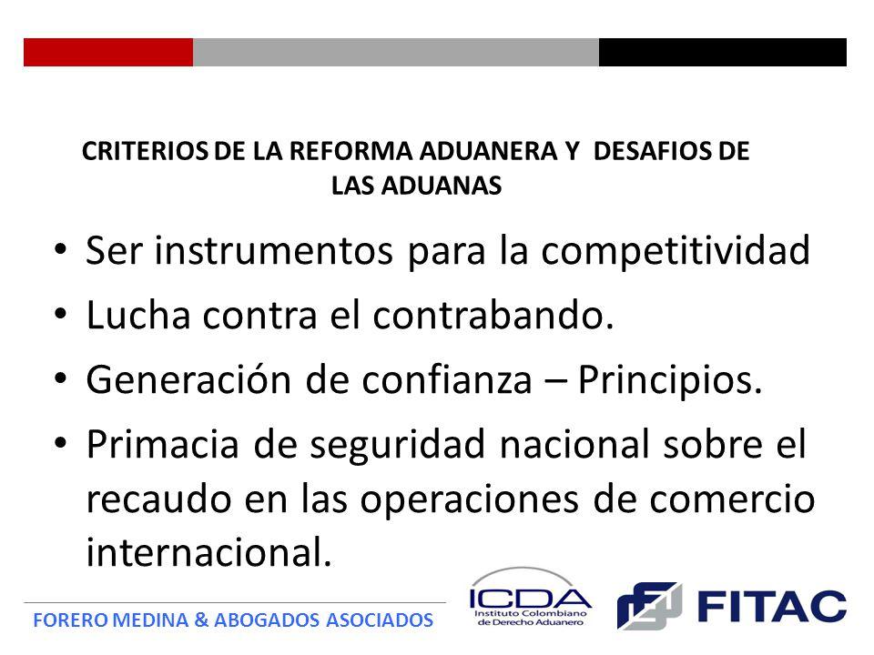 FORERO MEDINA & ABOGADOS ASOCIADOS Compromisos de Administración Aduanera y Facilitación del Comercio TLC Colombia - EEUU Artículo 5.8.