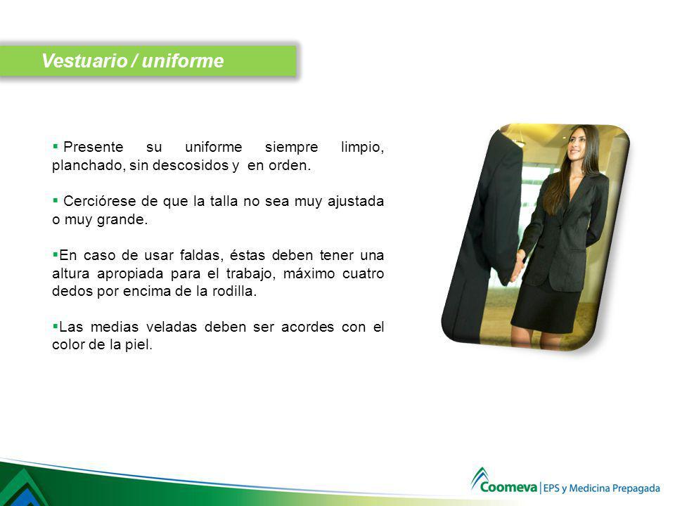 Use siempre ropa interior de acuerdo con el color de la ropa exterior.