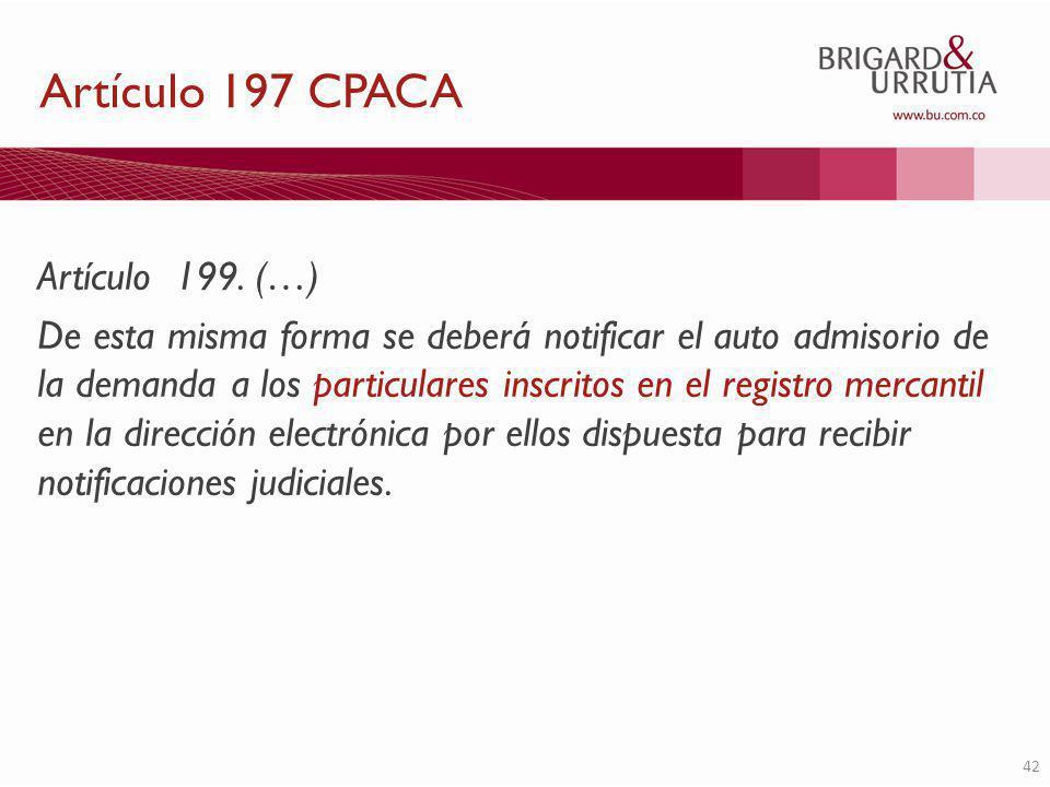 42 Artículo 199.