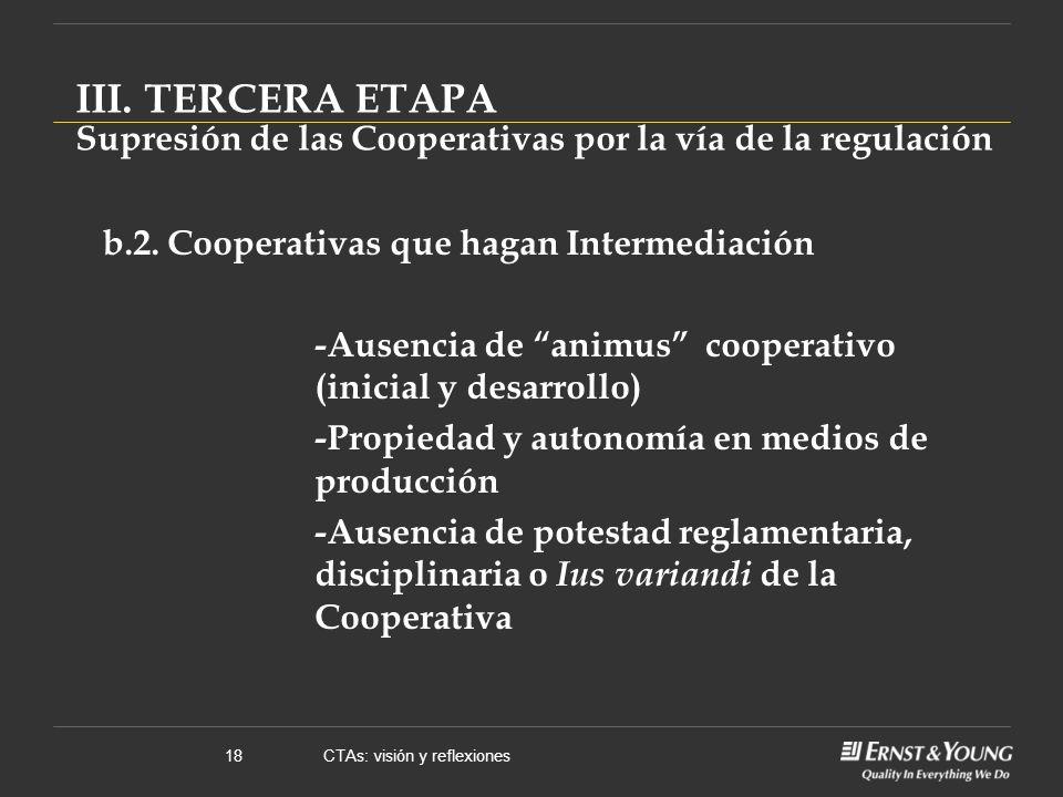 CTAs: visión y reflexiones18 b.2.