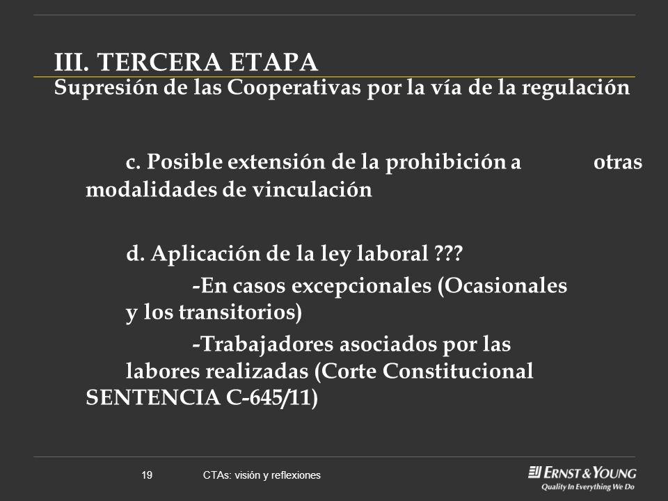 CTAs: visión y reflexiones19 c.