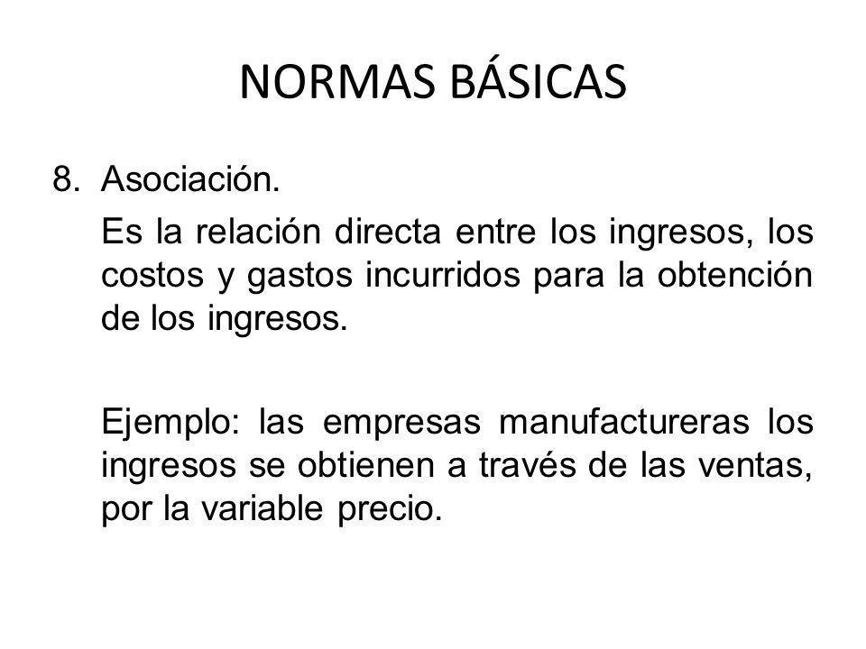 NORMAS BÁSICAS 9.Mantenimiento del patrimonio.