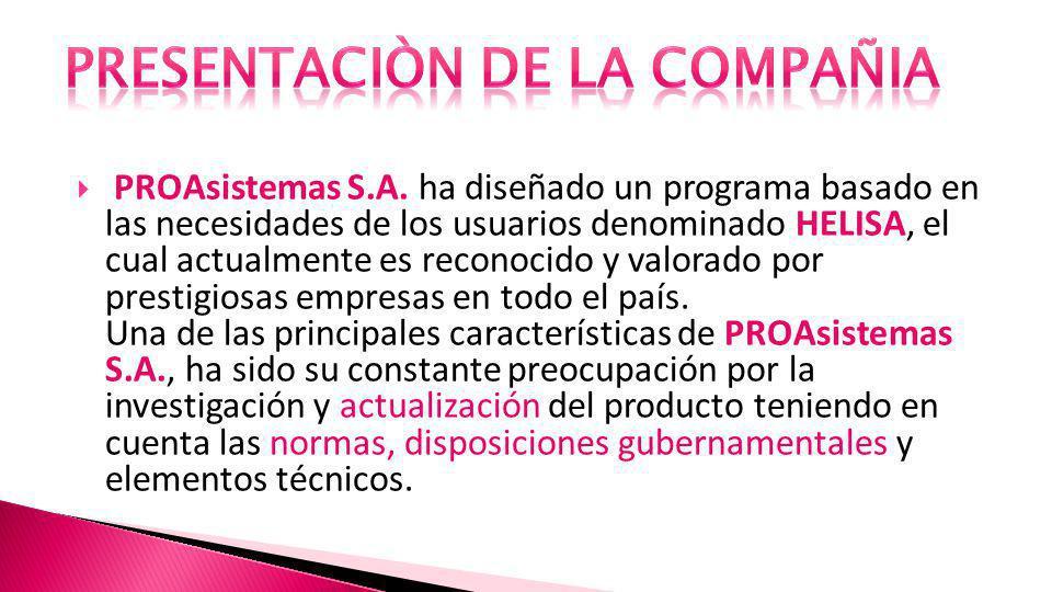 PROAsistemas S.A.