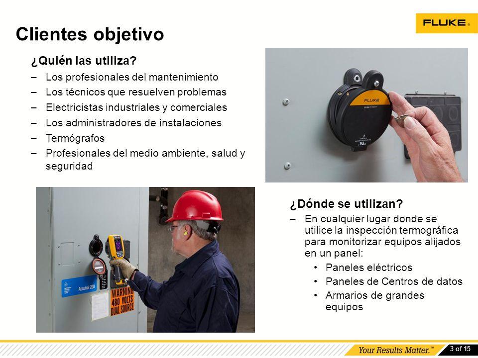 3 of 15 ¿Quién las utiliza? –Los profesionales del mantenimiento –Los técnicos que resuelven problemas –Electricistas industriales y comerciales –Los