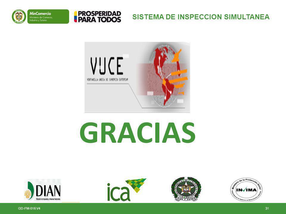 GD-FM-016 V431 SISTEMA DE INSPECCION SIMULTANEA GRACIAS