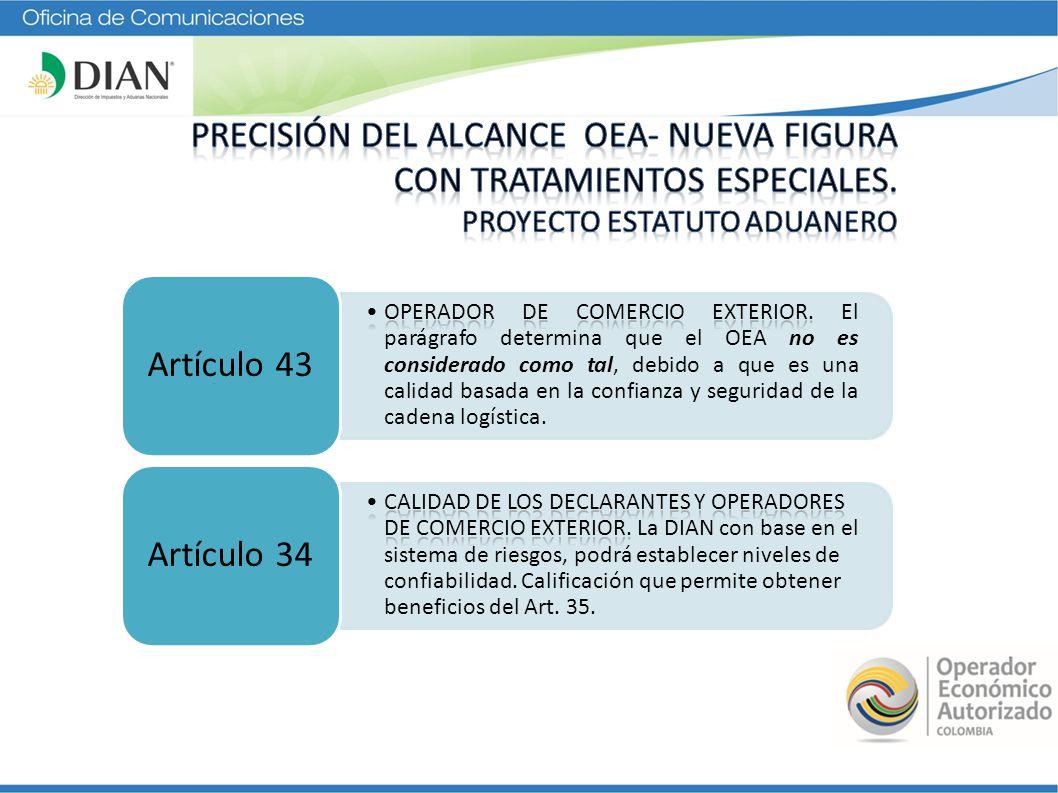 Artículo 43Artículo 34