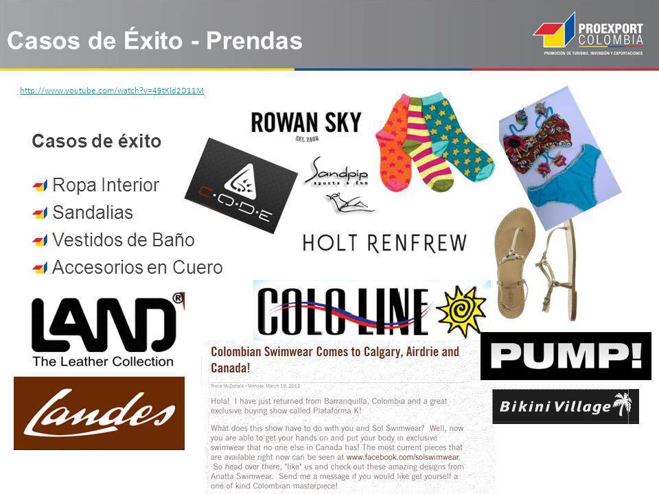 Casos de Éxito - Prendas Casos de éxito Ropa Interior Sandalias Vestidos de Baño Accesorios en Cuero http://www.youtube.com/watch?v=49tKld2D11M