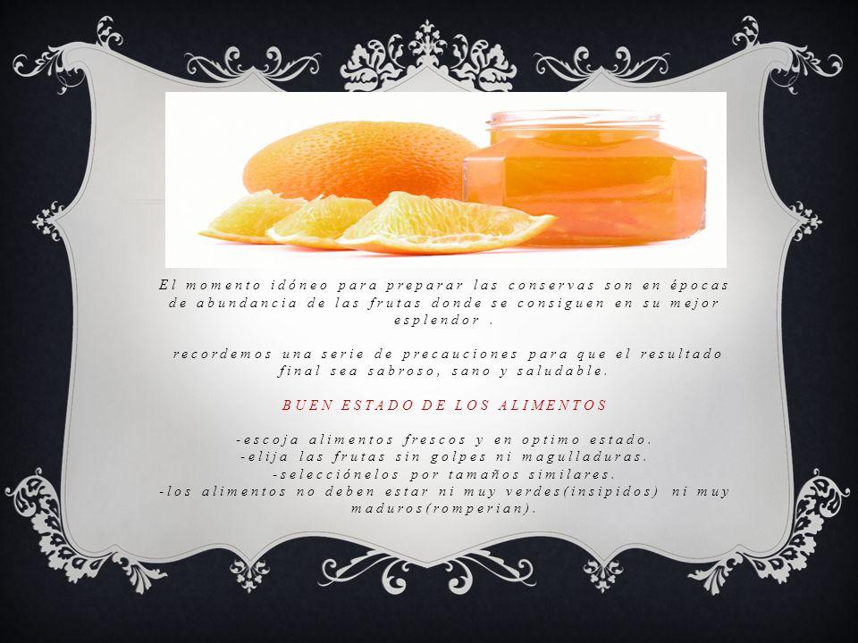 MEDIDAS DE HIGIENE -lave muy bien las frutas -mantenga una escrupulosa higiene a la hora de manipular los alimentos.