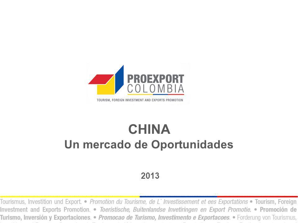 1.Generalidades de China a)¿Por qué China.