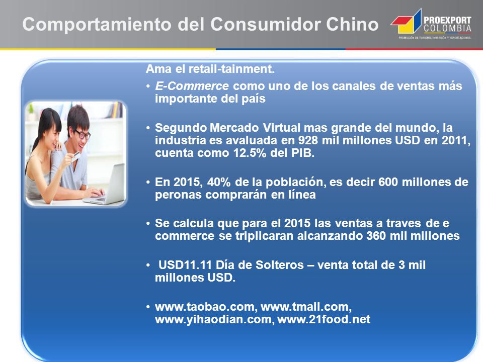 Ama el retail-tainment. E-Commerce como uno de los canales de ventas más importante del país Segundo Mercado Virtual mas grande del mundo, la industri