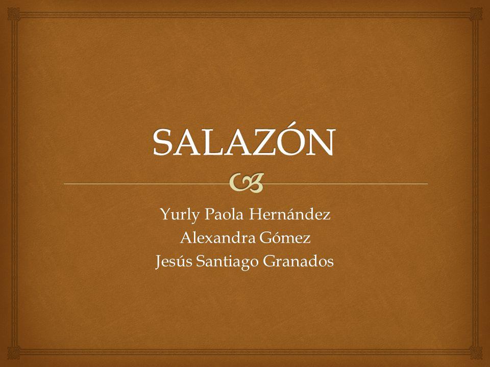 Se denomina salazón a un método destinado a preservar los alimentos, de forma que se encuentren disponibles para el consumo durante un mayor tiempo.