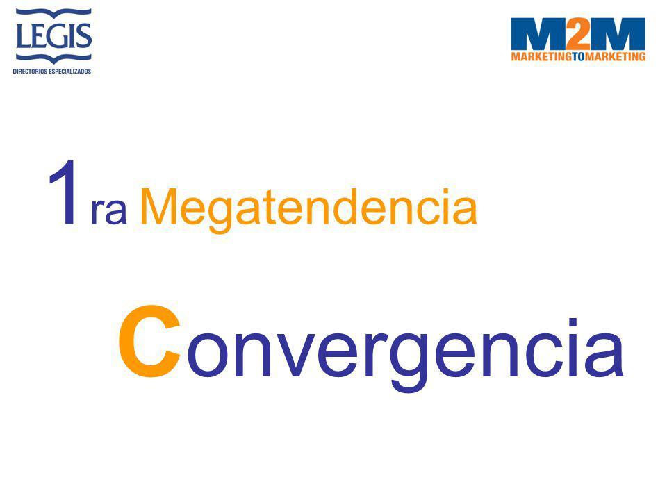 1 ra Megatendencia C onvergencia