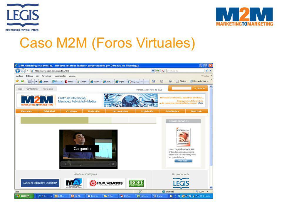 Caso M2M (Foros Virtuales) Cargando