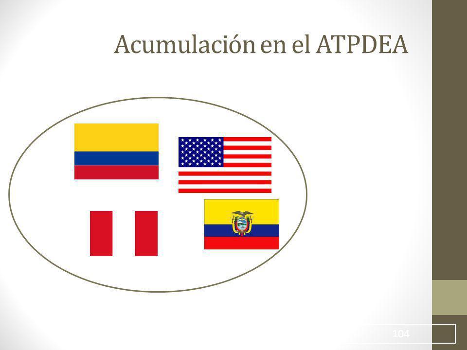 104 Acumulación en el ATPDEA