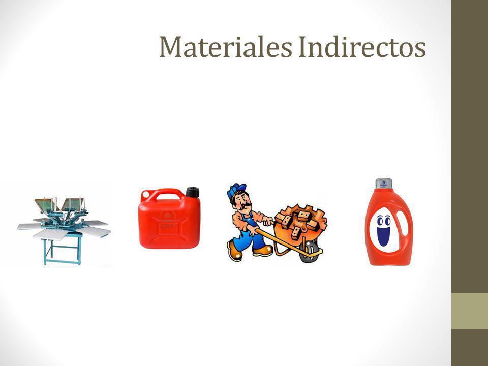 Materiales Indirectos
