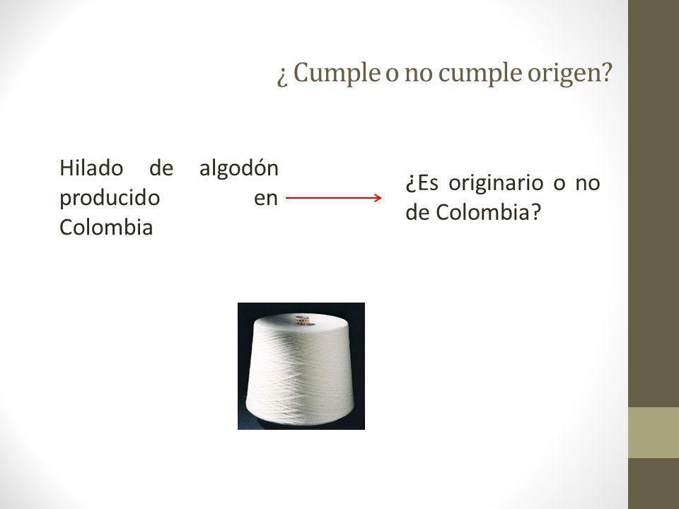 54 Paso 4: Determinar la clasificación de los insumos no originarios 5903.10 5508.20 6602.00