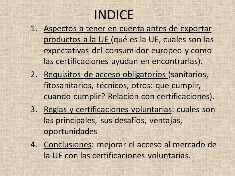 Principales certificaciones para alimentos ( Comercio Justo - Fair Trade ) Estandar/NormaQue hace.