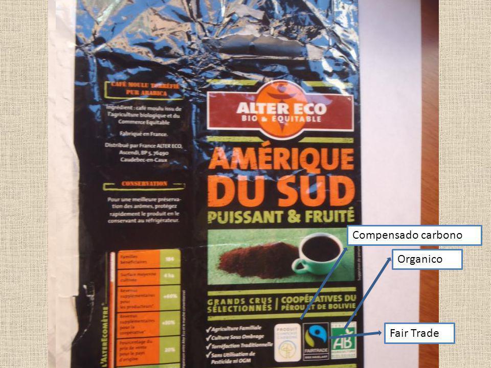 Fair Trade Compensado carbono Organico