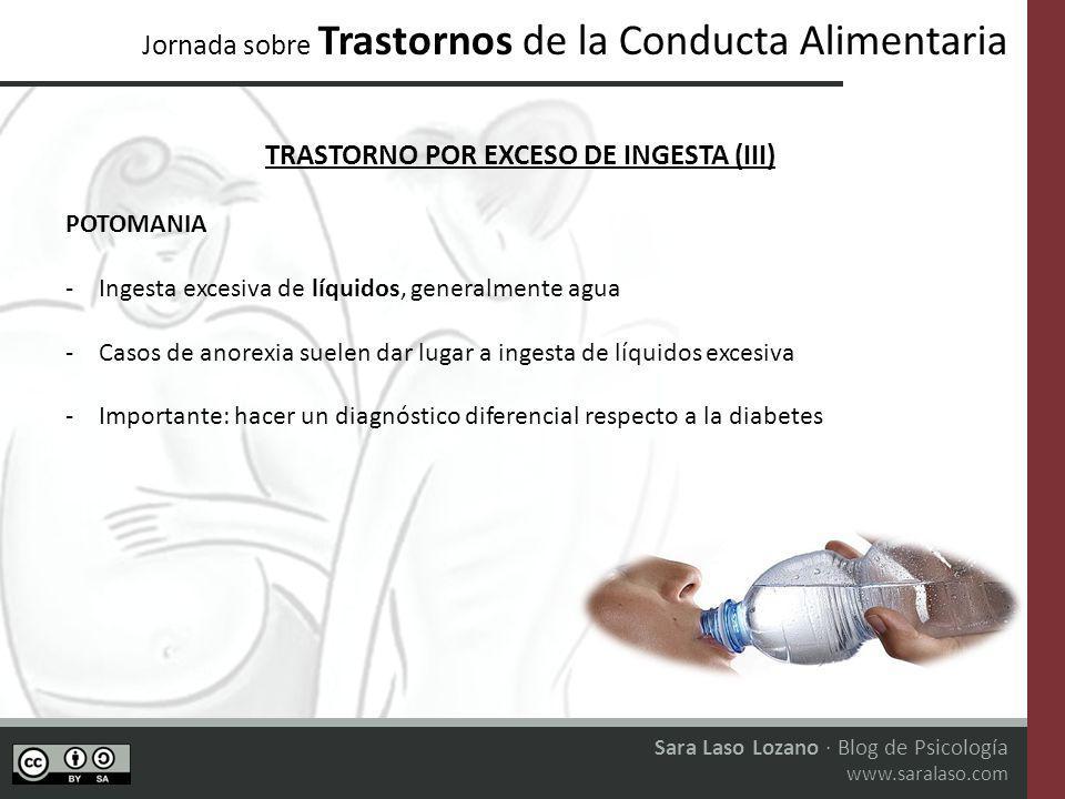 Jornada sobre Trastornos de la Conducta Alimentaria Sara Laso Lozano · Blog de Psicología www.saralaso.com LAS REDES SOCIALES