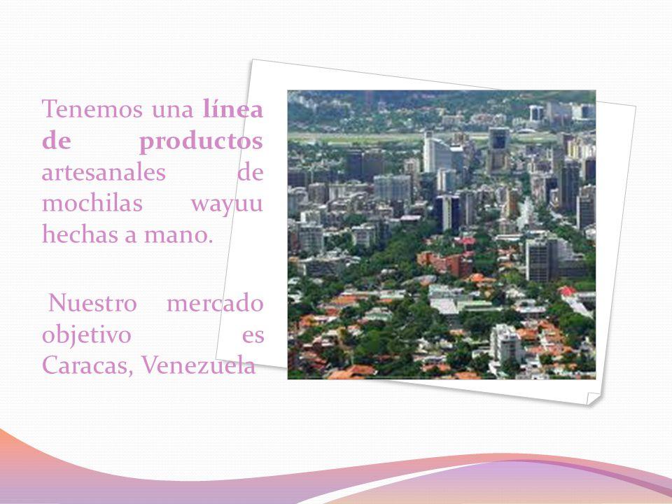 IDENTIFICACIÓN DE SEGMENTO: la población objetivo es el 10% de los habitantes de Caracas, que son los extractos 3 y 4 y en total serian 400.000 habitantes.