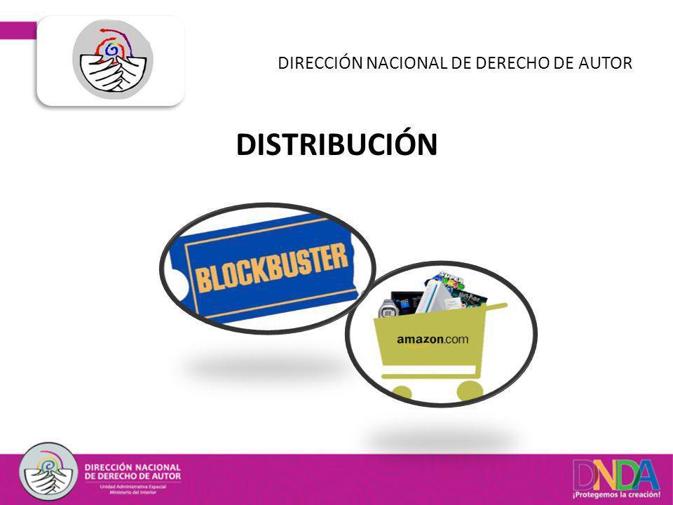 DISTRIBUCIÓN DIRECCIÓN NACIONAL DE DERECHO DE AUTOR