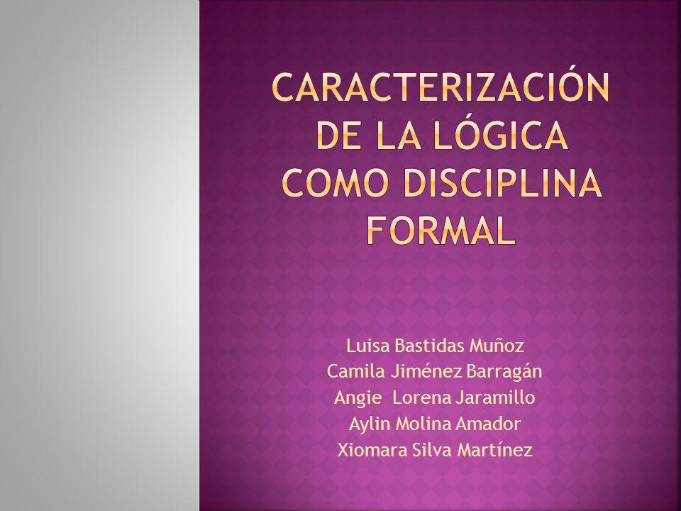 Luisa Bastidas Muñoz Camila Jiménez Barragán Angie Lorena Jaramillo Aylin Molina Amador Xiomara Silva Martínez