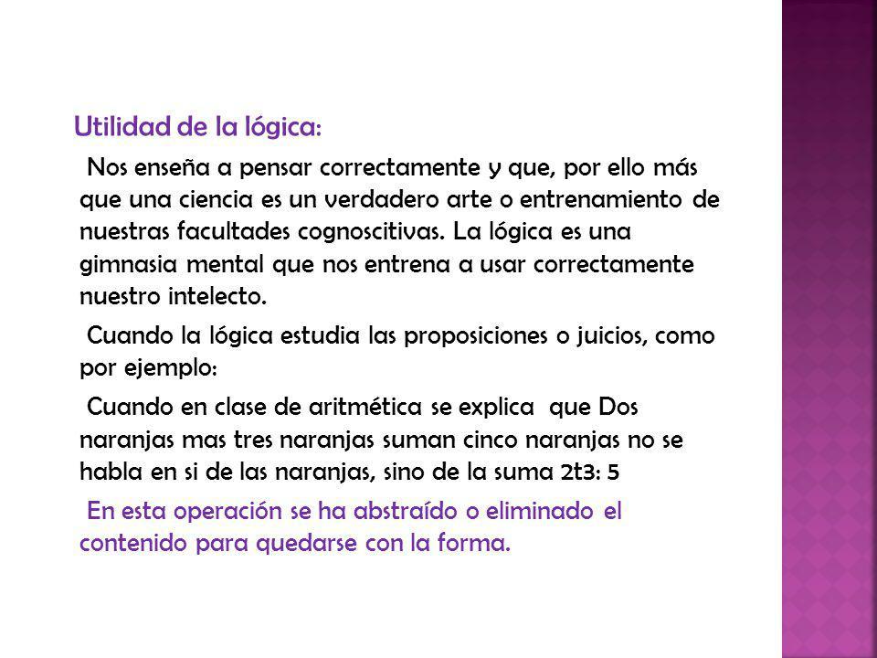 La lógica Formal se relaciona con disciplinas como la Matemática, La Psicología y la Gramática.