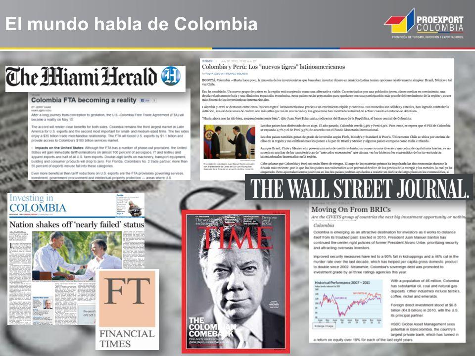 El mundo habla de Colombia