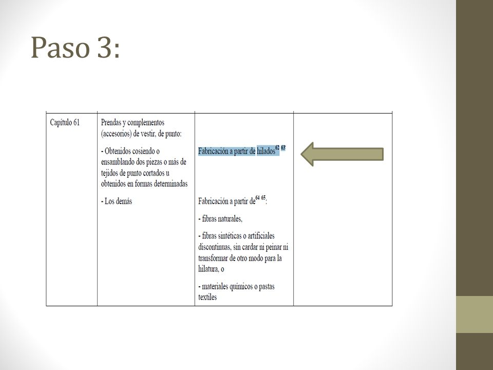 Paso 3:
