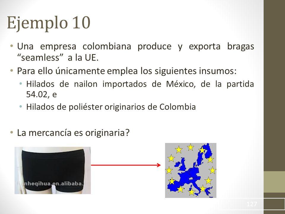 Una empresa colombiana produce y exporta bragas seamless a la UE.